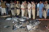 BOM BLAST IN GAUHATI ASSAM KILLS MANY